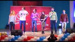Видеотрансляция выступления команды КВН РУДН «Большие перемены»: приветствие