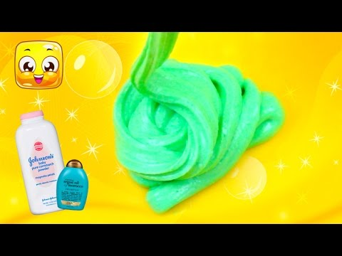 How to make slime with baby powder and shampoo without glue diy how to make slime with baby powder and shampoo without glue diy slime without glue by jelly rainbow ccuart Gallery