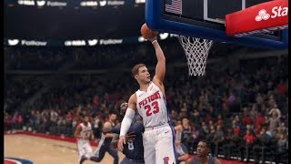 NBA Live 18 Blake Griffin Debut Pistons vs Grizzlies Gameplay!!!