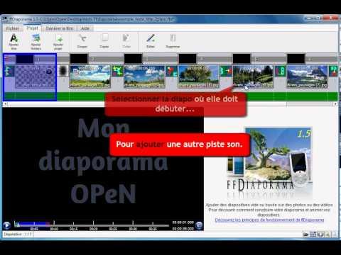 FFDiaporama   03   Ajouter de la musique   OPeN