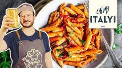So gehen echte Penne all'arrabbiata – der scharfe Pasta-Klassiker aus Italien