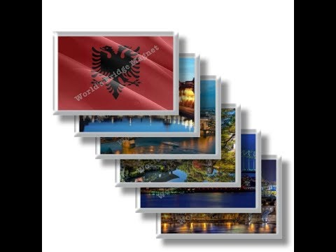 AL - Albania Travel and magnet