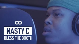 """Nasty c, south african rapper and rising star, goes off top to prove why he's the coolest kid in africa for bless booth., see more booth: http://tidal.com/us/blessthebooth, """"in an era ..."""
