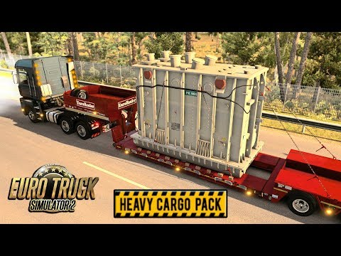 HEAVY CARGO | Euro Truck Simulator 2 | Episode 3