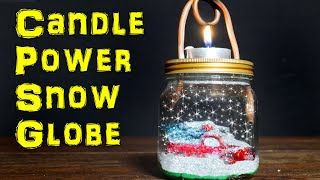 How to Make a Candle Powered Snow Globe