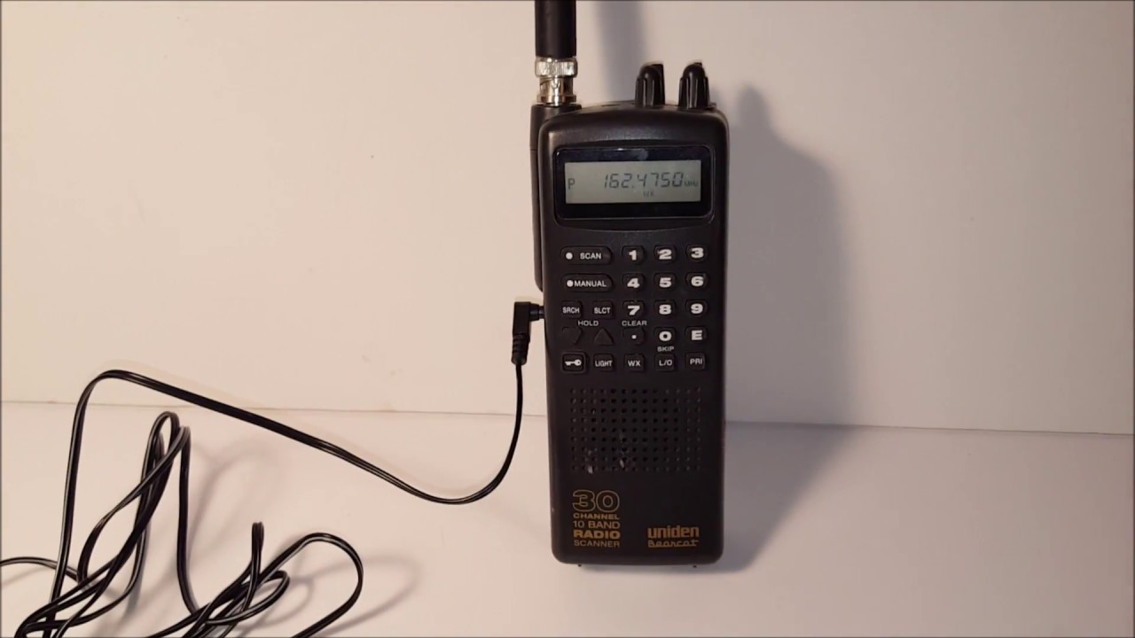 bearcat scanner uniden bc 60xlt 1 youtube rh youtube com Uniden Bearcat Police Scanner Uniden Bearcat Scanner Frequency Numbers