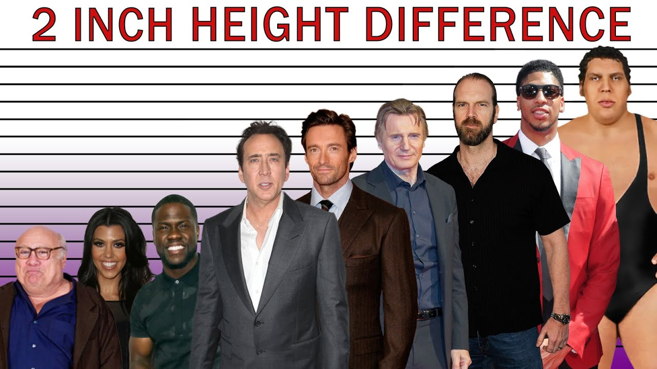 2 Inch Height Difference Look Like