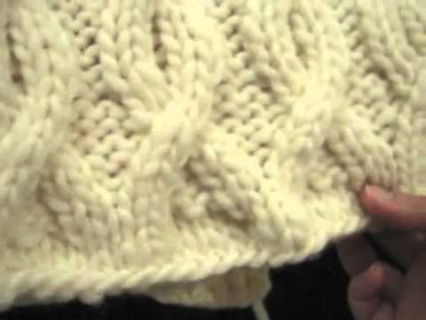 KNITFreedom - How to Knit Legwarmers - Cabled Legwarmer Pattern Overview