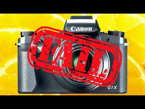 Canon G1X Mark III - FIVE Reasons NOT to Buy the NEW G1X Mk3 APS-C Sensor Compact