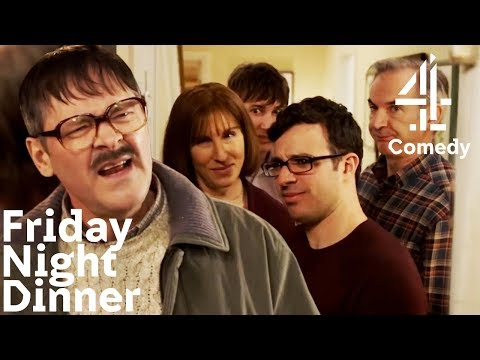 Best of Friday Night Dinner | Neighbour Jim's Funniest Moments! Series 1-5 | Part 1