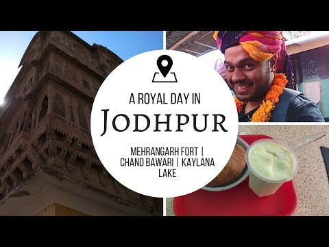 A Royal Day in Jodhpur! Pal Haveli | Mehrangarh fort | Chand