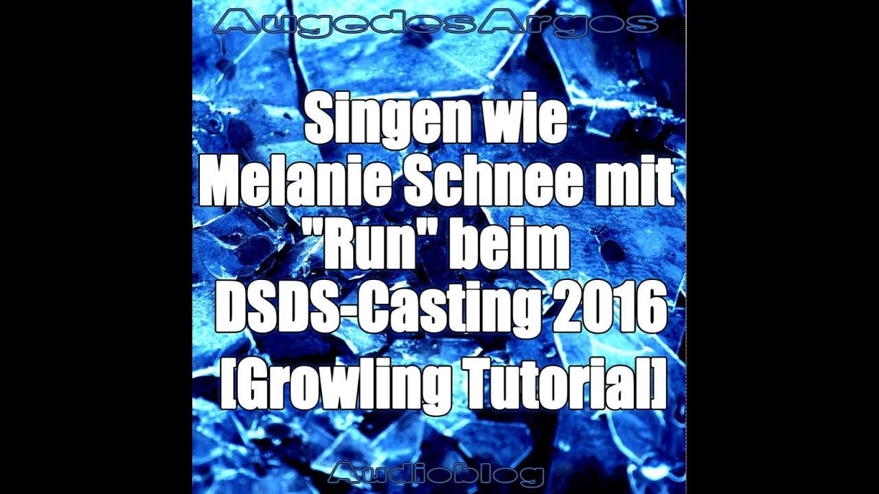 Singen wie Melanie Schnee mit