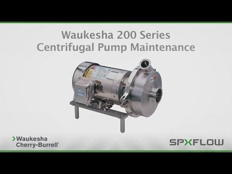 SPX FLOW - WCB - 200 Series Centrifugal Pump Maintenance