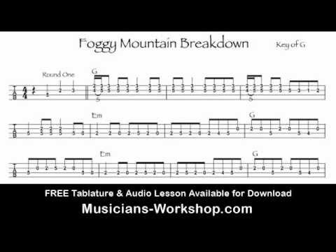 Foggy Mountain Breakdown Mandolin Lesson With Tab Youtube