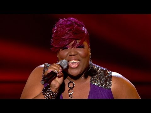 Aundrea Nyle performs 'Crazy' - The Voice UK - Blind Auditions 1 - BBC One