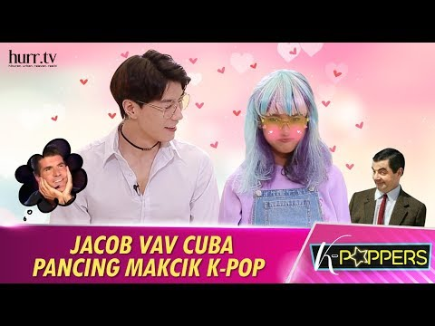 Jacob VAV Cuba Pancing Makcik K-Pop | K-Poppers