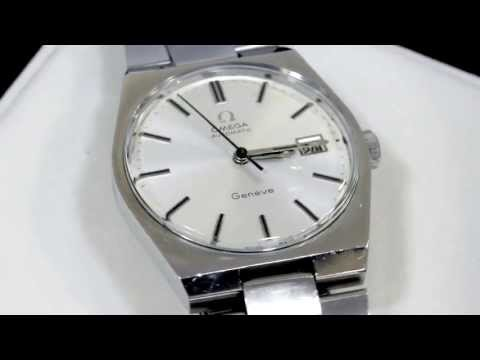 Omega Geneve Stainless Steel Gent's Watch - Vintage 1971 - AC Silver W6919