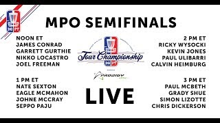 2018 Disc Golf Pro Tour Championship - MPO Semifinals