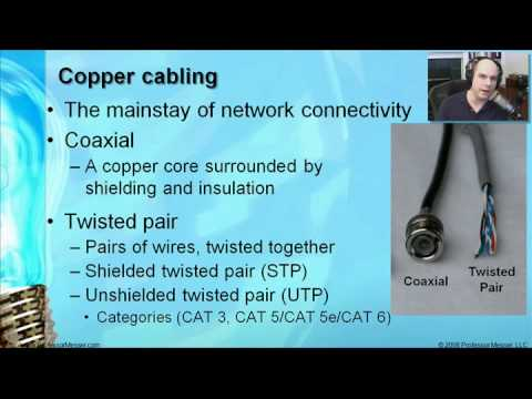 CompTIA A+ 220-601: 5.1 - Network Cabling