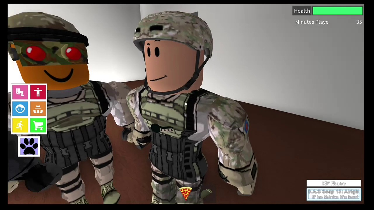 Marine Roleplay On Roblox No Commentary Youtube