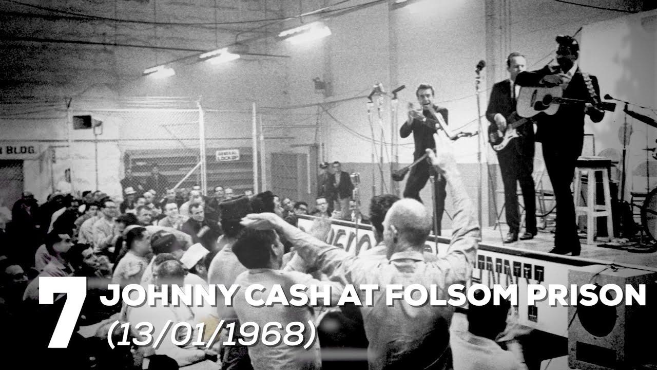 7 - Johnny Cash - Folsom Prison (13/01/1968) | 35 maiores shows do rock | Alta Fidelidade