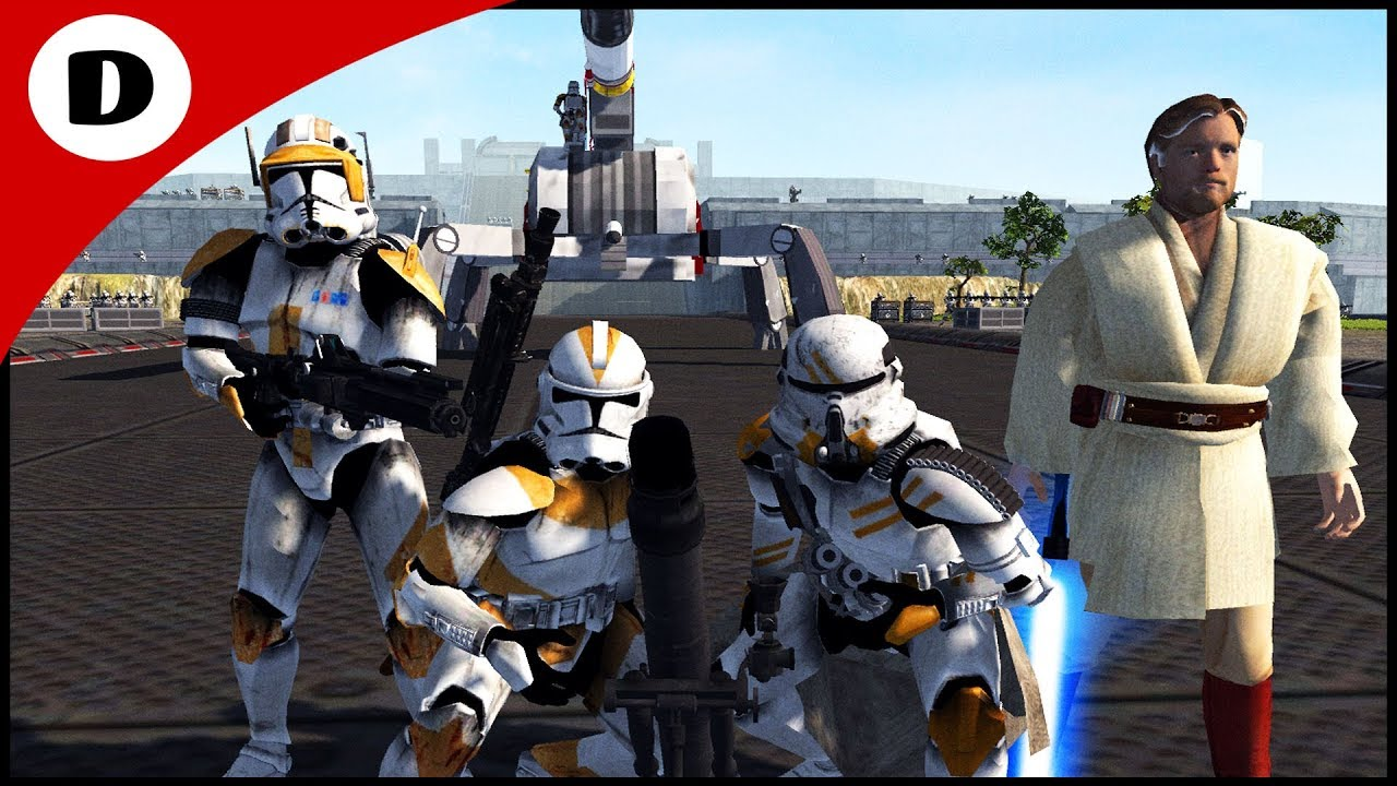 COMMANDER CODY UNDER SIEGE - Men Of War: Star Wars Mod ...