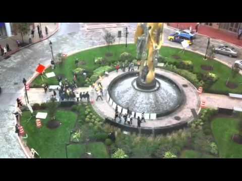 Baltimore Flashmob - President  Aliceanna