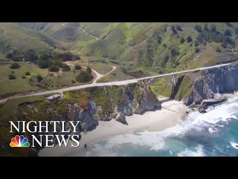 Landslide Buries Stretch Of Famous Hwy. 1 At Californias Big Sur