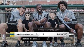 Η παρακάμερα του Sint-Truidense VV-ΠΑΟΚ - PAOK TV