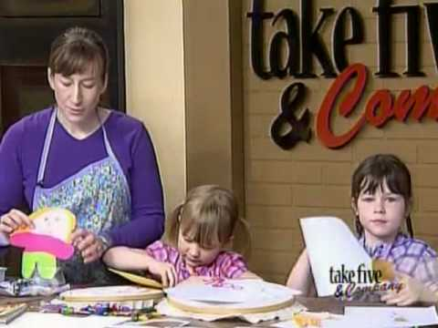 CraftSanity on TV Making Flat Stanley projects with kids  sc 1 st  YouTube & CraftSanity on TV: Making Flat Stanley projects with kids - YouTube