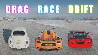 Forza Horizon 4 - Best Car DRAG/DRIFT/RACE