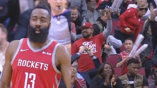 James Harden SHOCKS Entire Rockets Crowd With Crazy 57 Points! Rockets vs Grizzlies