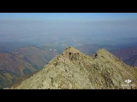 Above the Big Almaty Peak