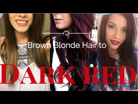 How To Dark Red Hair From Blonde Brown L Oreal Paris