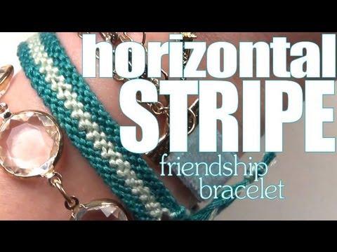 How To Make Friendship Bracelets ♥ Long Stripe