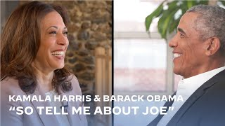 "Barack Obama and Kamala Harris: ""So tell me about Joe"" 