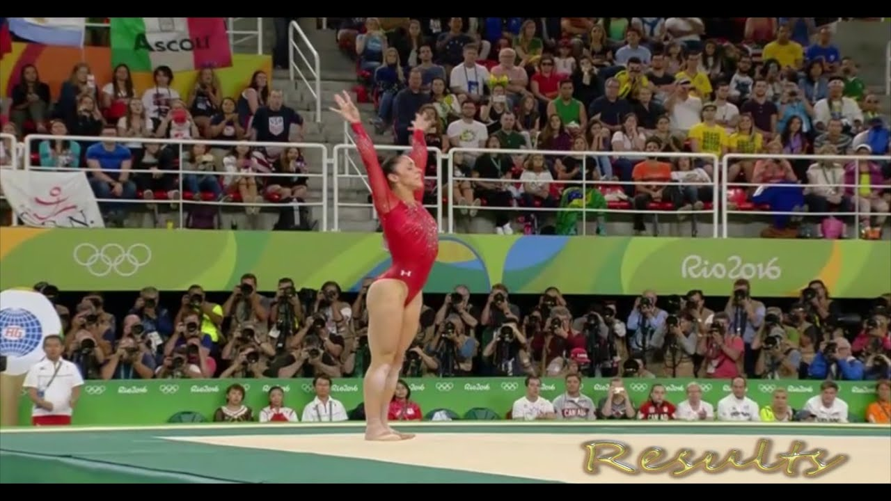 Aly Raisman 2016 Floor Routine Individual All Around Final