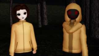 【MMD x Creepypasta】Slender Man Song