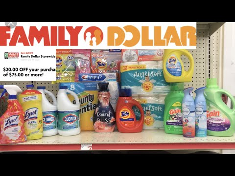 Family Dollar $20/$75 //$35.71 After A Few Hiccups Deals Good Till 3-16