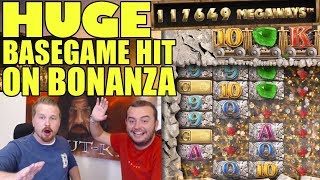 Big win in Bonanza - 117,000 Megaways