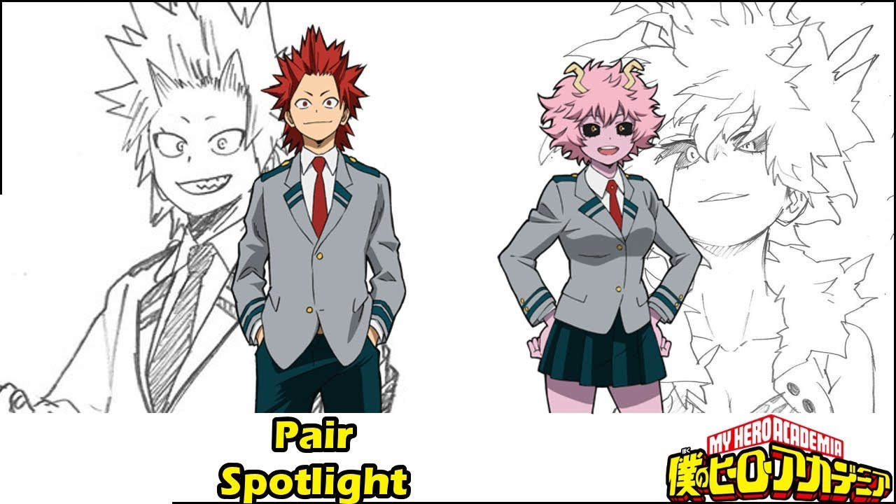 Why This Is A Thing Kirishima And Mina My Hero Academia Pairs