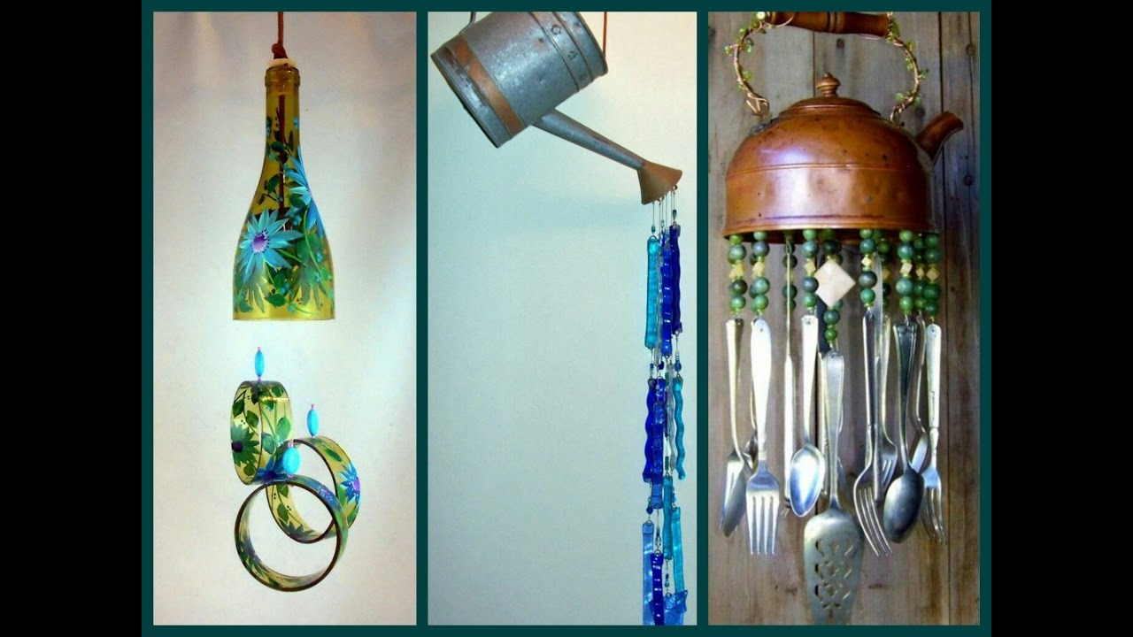 Recycled Wind Chimes Diy Craft Ideas