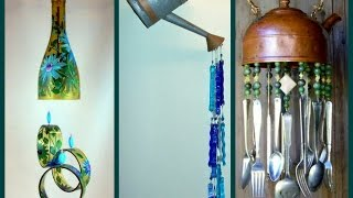 Recycled Wind Chimes - DIY Craft Ideas