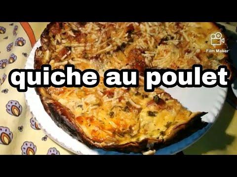 كیش-الدجاج-الصحیة-quiche-au-poulet-diete
