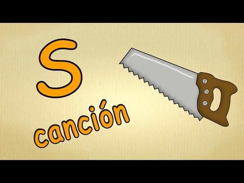 alfabeto en español para niños de preescolar - La letra S -Lied musica para estudiar español
