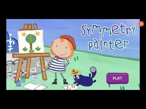Peg + Cat: Symmetry Painter- PBS Kids Games - Educational Children's Game Playthrough  