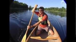 Canoe Strokes - The Cross Bow Draw