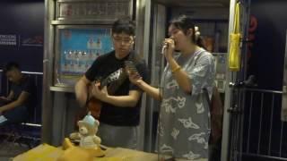 沙燕之歌 (Cover by Shannon) @尖沙咀碼頭 2016.08.28