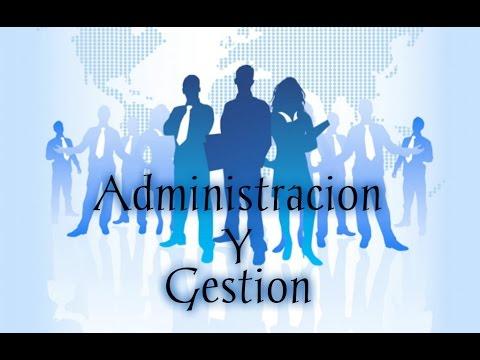 Resultado de imagen de administración y gestión