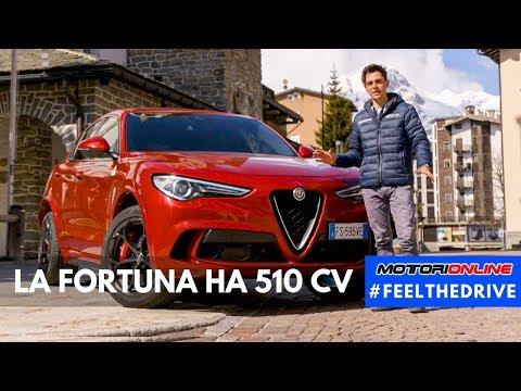 Alfa Romeo Stelvio Quadrifoglio - La Fortuna ha 510 Cv [#FEELTHEDRIVE]
